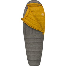 Sea to Summit Spark SpII Sacos de dormir Normal, dark grey/yellow